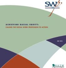 Social Work Policy Institute Releases Report on Achieving Racial Equity
